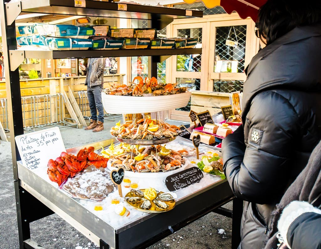 Seafood is pretty popular around the Haute-Savoie during winter