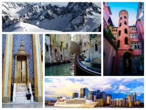Slow Travel Guide collage