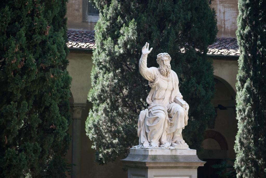 Santa Croce Garden Statue