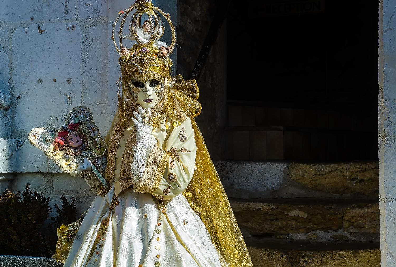Venetian carnival in Annecy