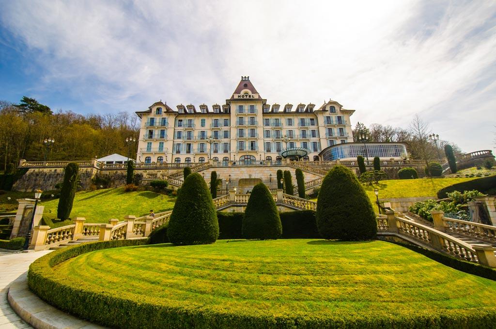 The Palace Menthon hotel in Menton-St-Bernard