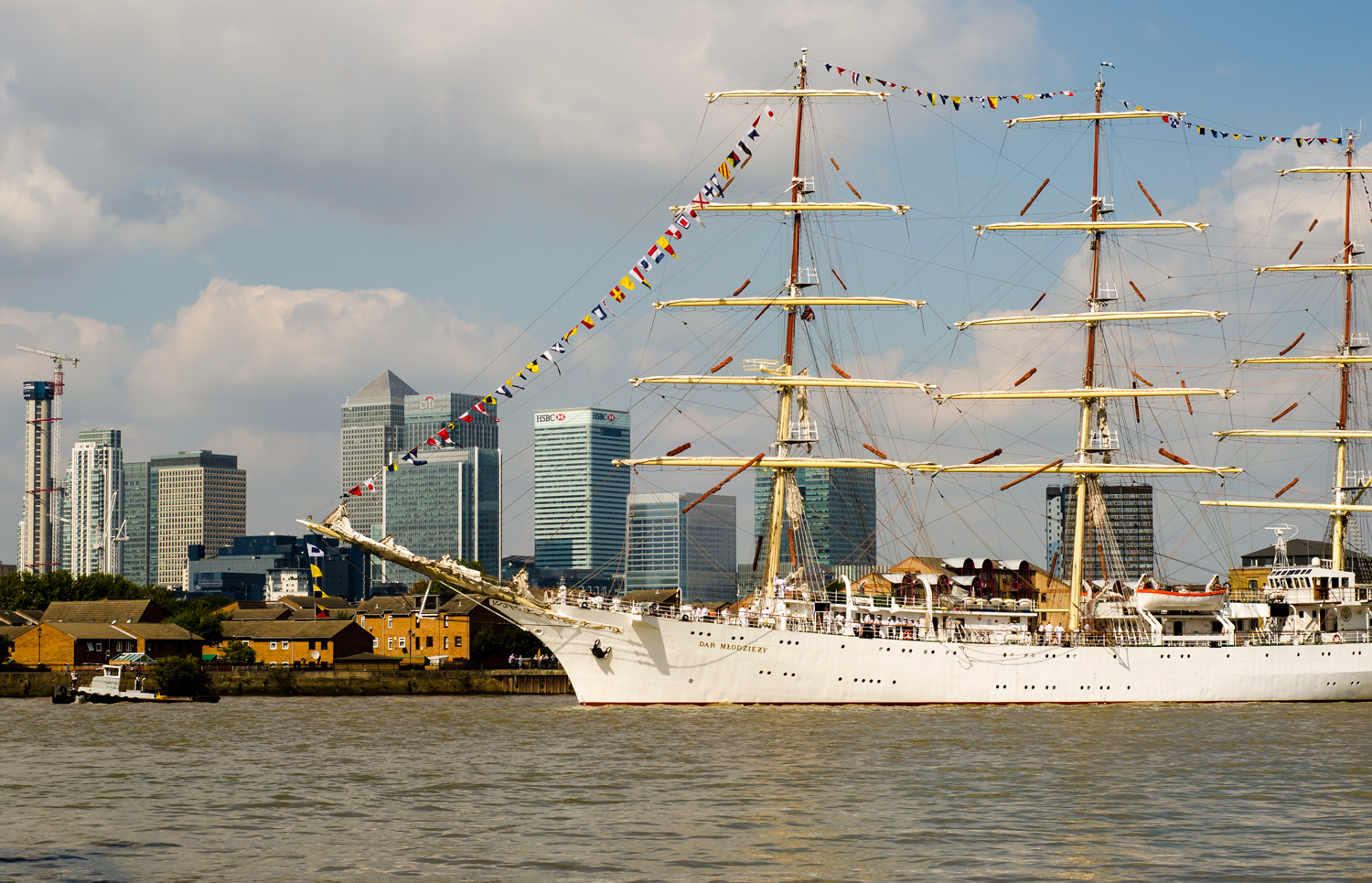 Travel Photo: London's Tall Ships Festival | Europe Is Our